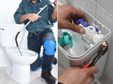plombier wc bouché, toilette qui fuit