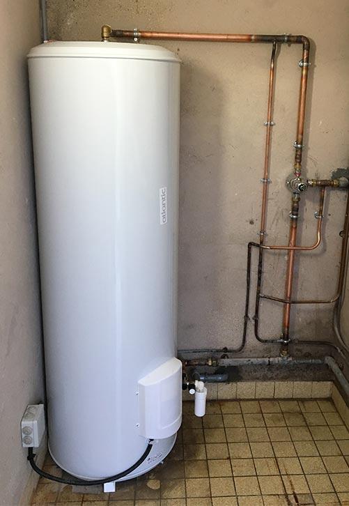 plombier installation réparation chauffe eau électrique paris