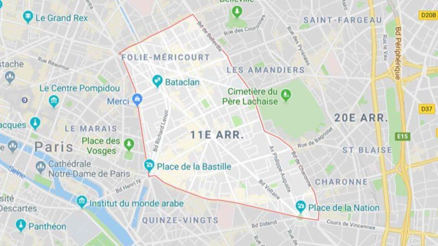 Plombier Paris 75011, 11ème arrondissement