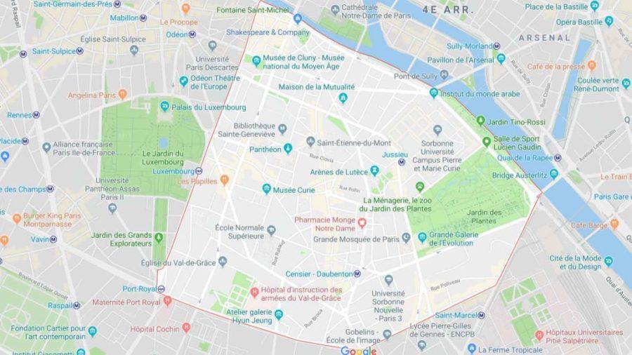 Plombier paris 75005 et 5ème arrondissement